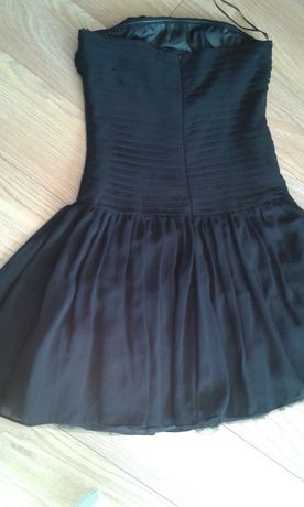 sukienka czarna zara R. 38