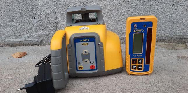 SPECTRA PRECISION LL300S+HL450 niwelator rotacyjny