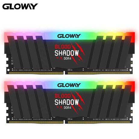 Оперативна пам'ять Gloway Blood Shadow 16GB (2x8GB) DDR4 3200MHz (RGB)