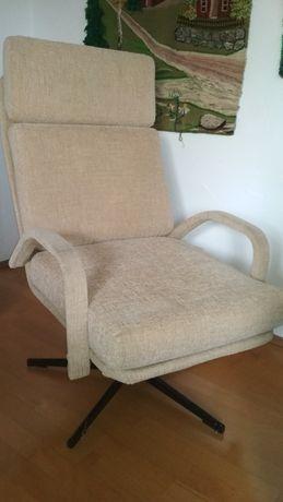 Fotel PRL polski design lat 70