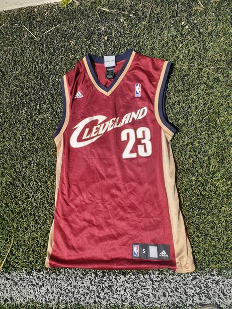 Баскетбольная майка NBA Lebron James 23, Cleveland, размер S