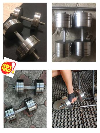 Гантелі з металу від 12 до 70 кг ТОПОВА ЯКІСТЬ