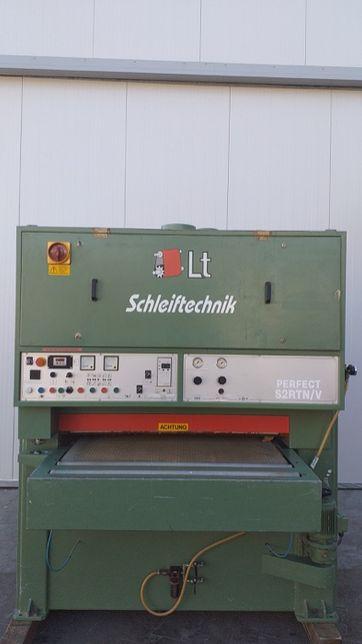 Szlifierka szerokotaśmowa z postarzarka Scheiftechnik