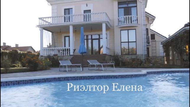 Дом с Бассейном  12 соток 5-к, у моря в Совиньоне. Одесса