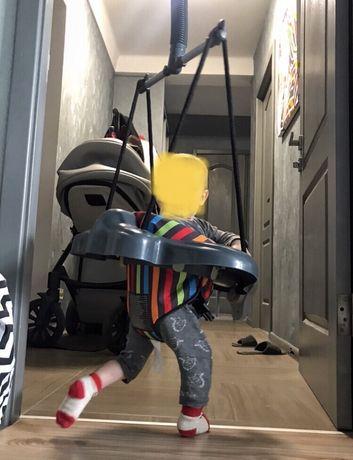 Детские прыгунки ABC design Twister Multicolor, серый