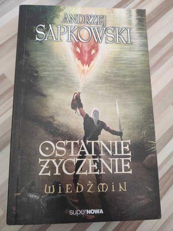 Wiedźmin Ostatnie Życzenie - Andrzej Sapkowski
