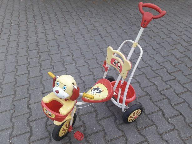 Rower Rowerek dziecięcy trójkołowy od 1 do 3 lat wydaje dzwięki
