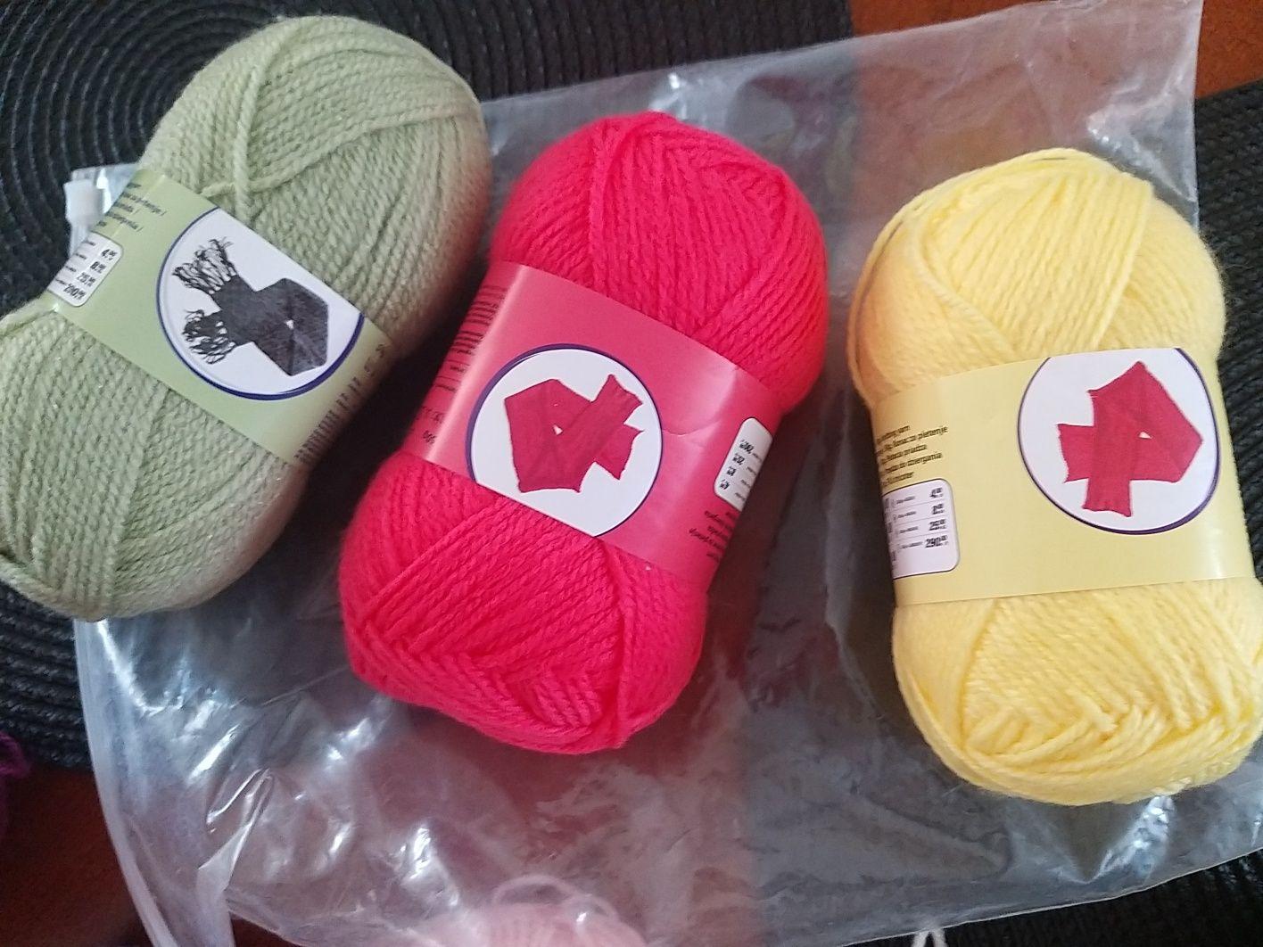 Włóczka do robienia na drutach