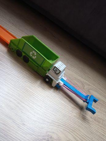 Tor hot wheels śmieciarka