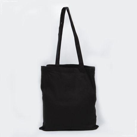 Эко сумка шоппер черный