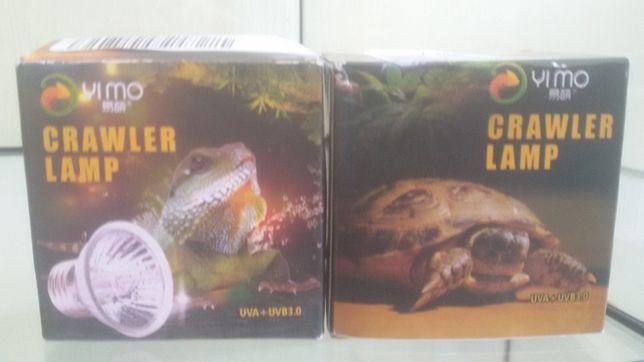 Лампа, лампочка ультрафиолет с обогревом для черепах. Доставка по Укра