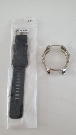 Samsung watch 46 pasek 22 + etui na bezel
