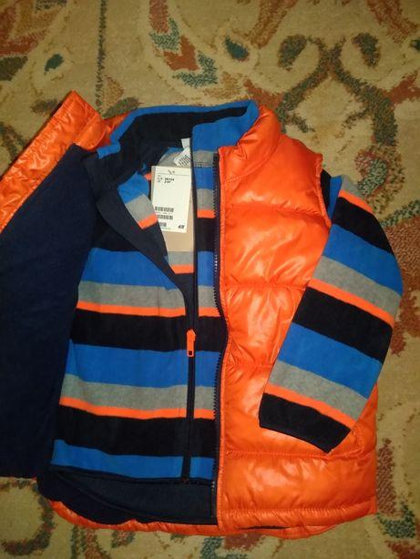 Нов жилет флиска флис куртка Old Navy H&M 3-5