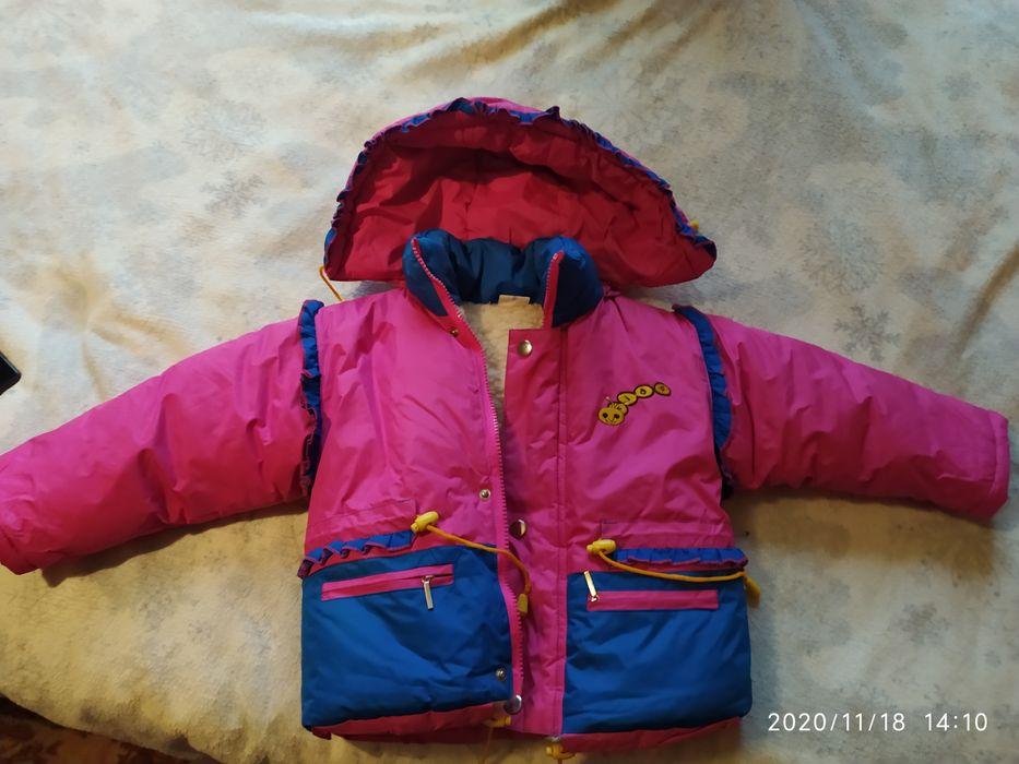 Зимня куртка в хорошому стані на овчині, кому треба більше інформації Киев - изображение 1