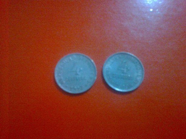 4 Centavos de 1917 + 4 centavos de 1919 ambas MBC