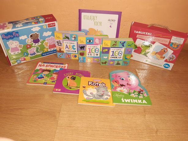 Książki i Puzzle dla Malucha