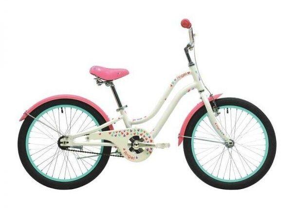 Детский велосипед Pride Angel с доп.колесами в новом состоянии
