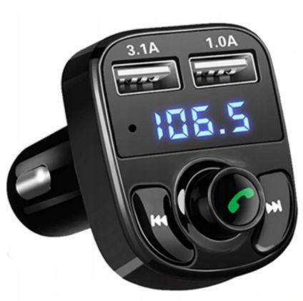 Transmiter Bluetooth FM MP3 SD Ładowarka 2xUSB DARMOWA DOSTAWA