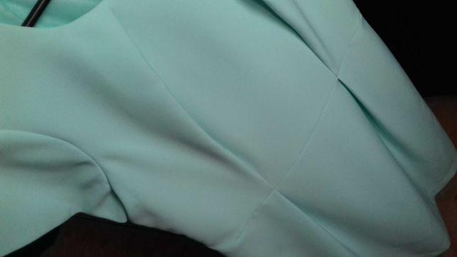 Miętowa sukienka 42 WYSYŁKA GRATIS !