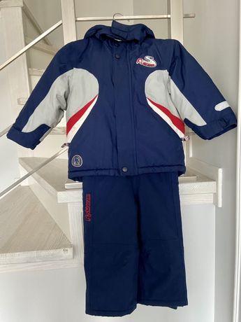 Mothercare зимняя куртка и комбинезон на мальчика 2-3 года р92-98рост