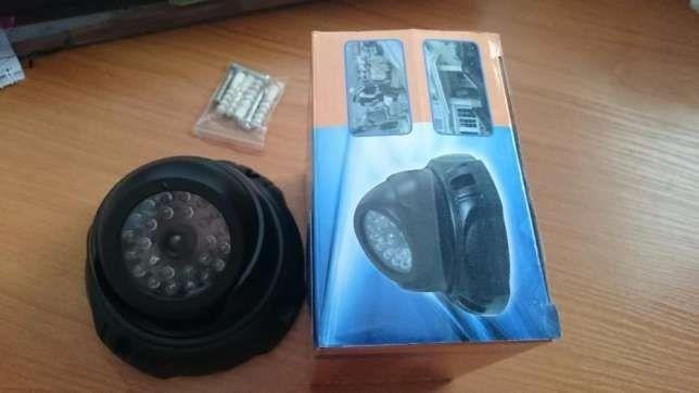 Муляж купольной видеокамеры, видеонаблюдение ,камера ,обманка