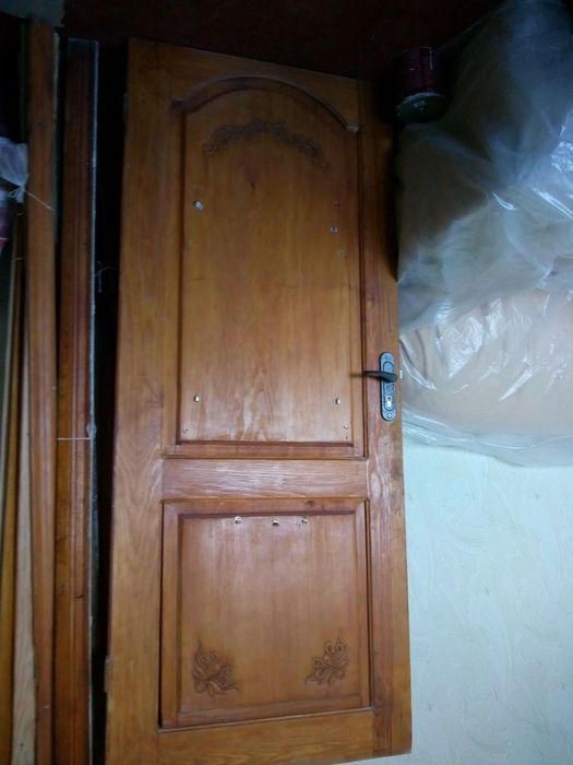 Входная дверь с обналичкой и замком Глухов - изображение 1