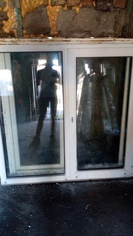 Окна бу 1.8м *1.4-3шт,  Привозка
