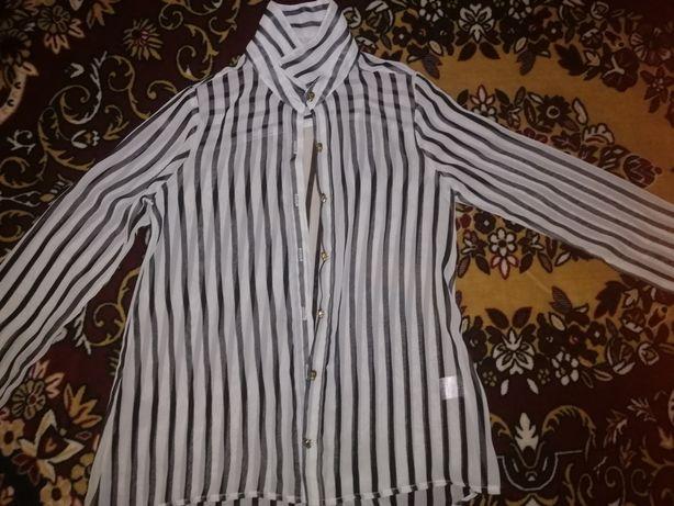 Продам  подростковую шифоновую блузку