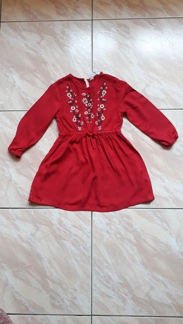 Sukienka świąteczna hm haft styl Newbie92