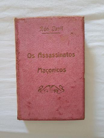 """Livro """" OS ASSASSINATOS MAÇÓNICOS """" Por Léo Taxil e Paulo Verdun"""