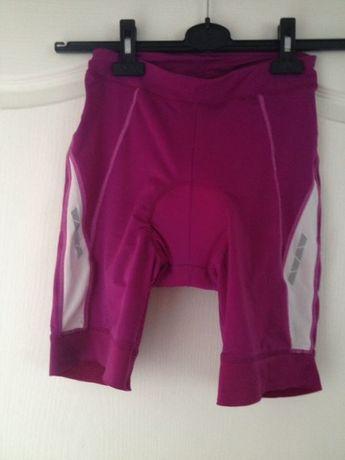 Spodnie kolarskie rowerowe damskie 36