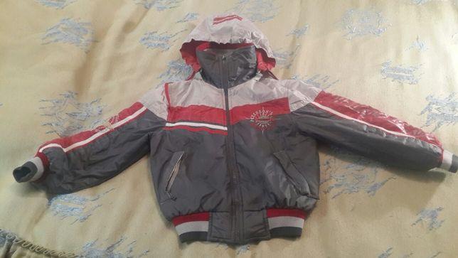 деми куртка на мальчика р.128