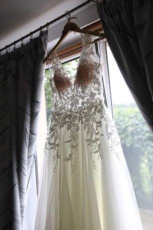 Suknia ślubna ARIANNE z welonem