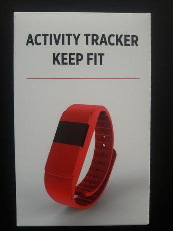 Opaska fitness XINDAO keep fit czerwona Nowa