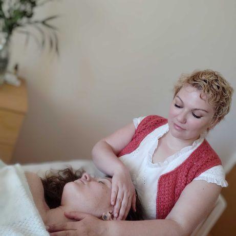 Косметический массаж лица, шеи и декольте.