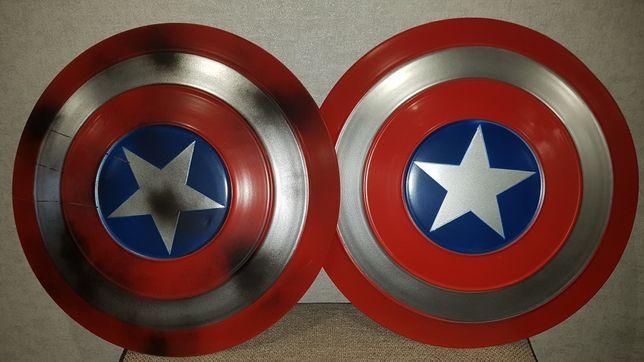 Большой Металлический Щит Капитана Америки, Марвел, Диаметр 50см..
