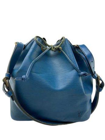 Louis Vuitton - Epi Petit Noe Drawstring Epi Leather Blue