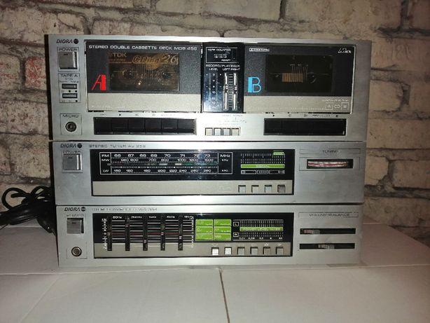 Wieża Unitra DIORA MIDI WS 354 AS 252 MDS 456