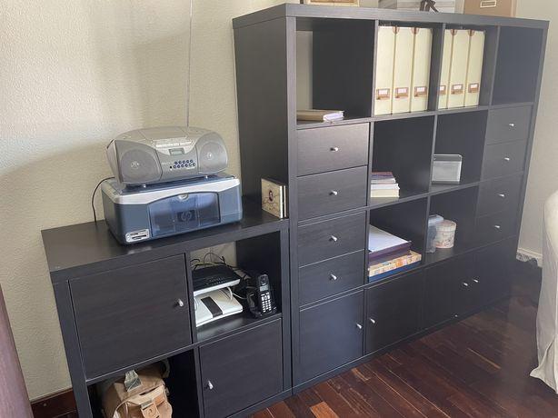 Conjunto Estantes Kallax IKEA URGENTE