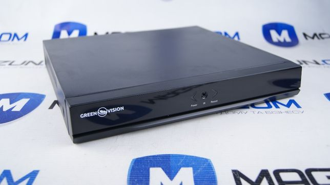 Восьмиканальный Видеорегистратор гибридный AHD Green Vision GV-A-S 031