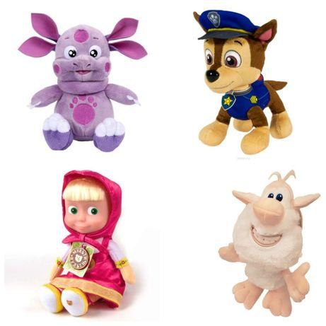 Мягкая игрушка Три кота, Малышарики, Щенячий патруль, Фиксики, Тиг и Л