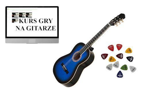 Gitara klasyczna EVER PLAY EV-128 3/4 DarmowaWysyłka GRATIS