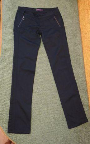 Брюки штаны черные школьные для девочки подростка ( 12-17 лет) р 28-29