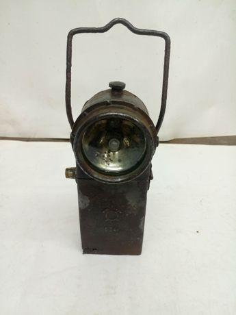 Stara lampa górnicza