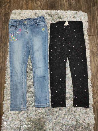 Spodnie/leginsy 116