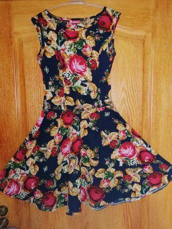 Лёгкое платье +помада