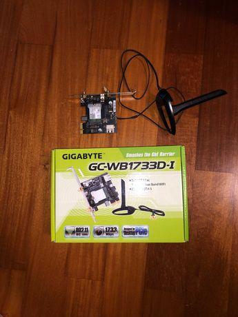 Placa de Rede: Gigabyte WB1733D-I (WLAN + Bluetooth 5.0)
