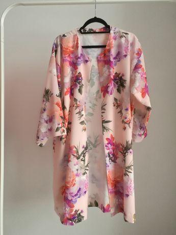 Kimono w kwiaty Oversize