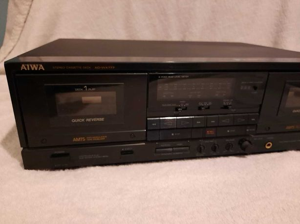 Tape deck aiwa ad-wx777