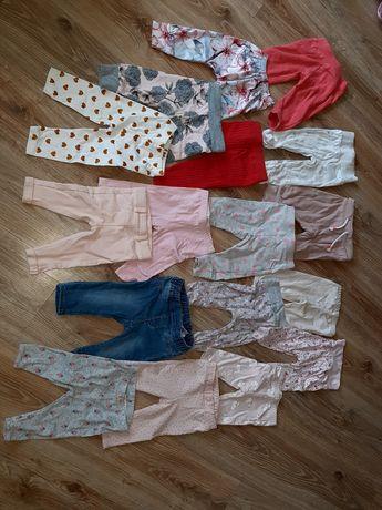 Spodnie, legginsy dla dziewczynki hm,cool club 68